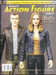 ACTION FIGURE DIGEST # 146 MAGAZINE TOMART'S THE KENNER LEGACY PART 2 BUFFY LOST
