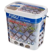 FUGLI Fix-Fertig Feste Pflasterfugenmörtel Fugenmörtel 12,5 kg Eimer Sand