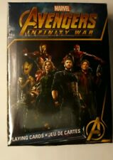 Marvel Avengers Infinity War Playing Cards sealed unopened Super Heroes