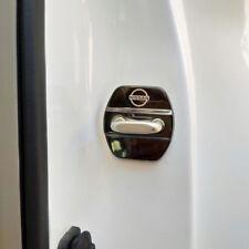 4x Edelstahl Türschloss Abdeckung Schnalle für Nissan x-trail T32 Qashqai J11
