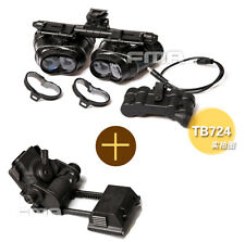 FMA Tactical Hunting GPNVG 18 DUMMY Model + Plastic L4G24 NVG Mount Black