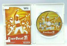 ExerBeat (Nintendo Wii / Wii U 2011) Complete Tested Working Exercises CIB EUC
