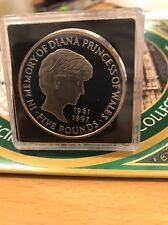 1999 5 Pound Coin *PROOF*IN LOVING MEMORY OF PRINCESS DIANA Bu Condition