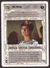 Mon Mothma WB [Near Mint/Mint] 2ND SECOND ANTHOLOGY star wars ccg swccg