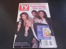 Bill Bixby, Cindy Crawford - TV Guide Magazine 1993