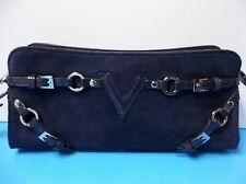 Elegant Via Spiga Leather Wristlet wallet Dark Purple color