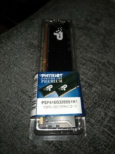 PATRIOT SIGNATURE PREMIUM DDR4 16GB 3200MHZ (PC4-25600) UDIMM WITH HEATSHIELD