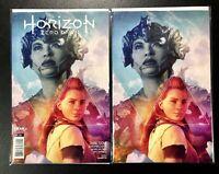 🚨💥 HORIZON ZERO DAWN #1 ARTGERM COLLECTOR'S SET OF 2 Cover A & 1:25 Virgin H