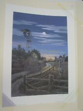 Movin' On James Lumbers Signed and Numbered Limited Edition Print Free Shipping