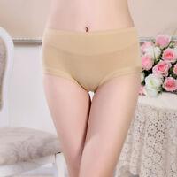 Large Size Women Panties Underwear Soft Bamboo Briefs Wide Waistband Underpants