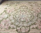 """Needlepoint Rug made in China 7' 6"""" x 9' 6"""" 100% wool"""