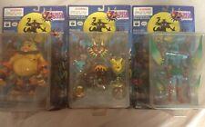 2001 EPOCH Zelda Lot of 3 Goron Deku Zora Link Figure Collectable Nintendo RARE