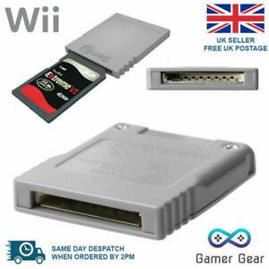 SD Memory Card Converter Adapter for Nintendo NGC Gamecube WII