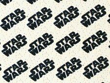 Fat Quarter Fabric Star Wars Logo On Tiny Dots Quilting Camelots Cotton Fq