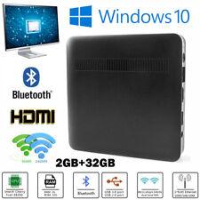 Mini PC Desktop Intel Atom Z8350 Quad Core 32GB Bluetooth Window 10 Computer EU