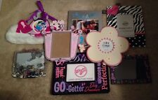 Picture Frame Lot For Girls Room Diva Fashion Dress Butterfly, Frames
