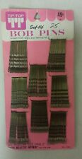 Vintage Bobby Pins! Soft Tip!  Regular Size Pins! (2 inch) Unique old Items!