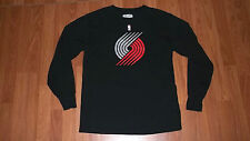 Nba Exclusive Longsleeve Portland Trail Blazers Shirt Med sports Basketball