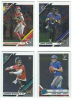 2019 Donruss Optic Football Veterans Rated Rookies RC Complete Your Set You Pick