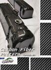 "19x79"" Water Transfer Printing Film Hydrographic BLACK CARBON FIBER weave X US"