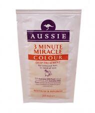 Aussie 3 Minute Miracle Colour Deep Treatment Hair Sachet 1x 20ml NEW