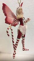 Pack of 4 Amy Brown Ornament Fairy Faery Figurine Ornament Collection
