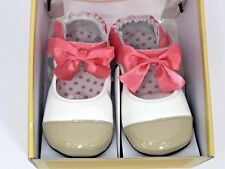 Robeez Mini Shoes Girls Size 18-24 Months Colorful Ballet Leather Toddler Shoes