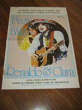 SOGGETTONE,Renaldo and Clara,Sara Dylan,Joan Baez, BOB DYLAN,1978,MUSICA