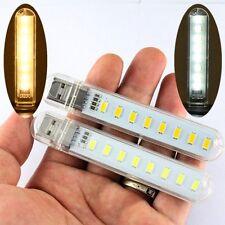 Mobile Power USB LED Lamp 8 Leds LED Lamp Lighting Computer Night Light Portable