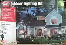 Toro outdoor lighting kit 14-light set triple tier path lighting NOS