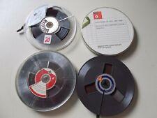 Tonbänder, Various Manufacturer & Game Duration, 4 Pieces, #K-69-2
