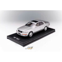 New Arrival IVY 1:18 Scale LEXUS LS400 Silver Car Model Limited Collection