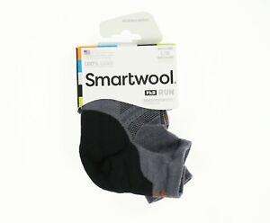 Smartwool 272893 Women's Run Light Elite 1 Pack Low Cut Socks Gray Size L