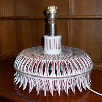 Rare Vintage 60s Italian Floor Table Lamp Italy Era Bitossi Raymor Aldo Londi