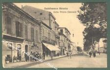 Abruzzi. CASTELLAMMARE ADRIATICO, Pescara. Corso V. Emanuele. Cartolina d'epoca.