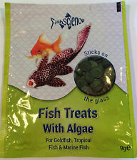 FISHSCIENCE FISH TREATS STICK ON GLASS TABLETS WITH ALGAE SCIENCE FISH SCIENCE