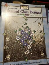 Gallery Glass Stained Glass Design Jan Cumber Book