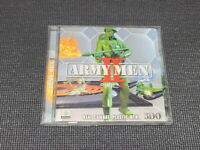 Army Men 2 PC Game Korean Version Windows CD ROM Rare