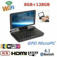 "GPD 6"" Micro PC Laptop Notebook 8GB 128G SSD WIFI HDMI Quad Core for Intel N4100"