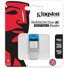 KINGSTON Card Reader USB Type C Stick Mobilelite Duo 3C Micro USB