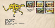 Ethiopia: 1980, Endangered Animals - Series V,  FDC