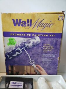 """Original Magic Decorative Painting Kit Dual Roller """"New"""" With Video @AE"""