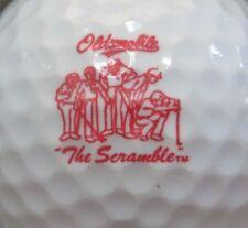 (1) Oldsmobile Auto Vehicle Logo Golf Ball