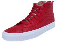 Vans Sk8-Hi Reissue Zip Gold Pack Sneaker Gr. 45 Herren Skater Leder NEU