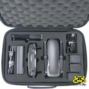 DJI Mavic Air Fly More Combo Carrying Case Fits Batteries Charger Propellers