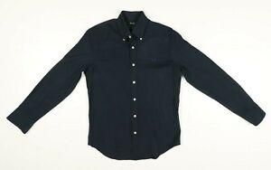 Camicia Fred Perry Tg: Mancante Usato (Cod.EBAY119) Vintage Slim Fit Blu Uomo
