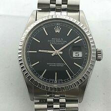 ROLEX DATEJUST REF 16014 AUTOMATIC QUICK SET DATE CIRCA 1985 GREAT CONDITION