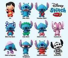 Disney Lilo & Stitch Collectible 3D Figural Keyring: Stitch Series 1 (Blind Bag)