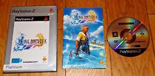 JEU PS2 PS3-FINAL FANTASY X-Complet boîtier notice