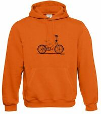 Motorholics Mens Raleigh Burner Retro BMX Hoodie S - 5XL